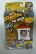 The Ugglys Pet Shop, Gross Homes, Exclusive Chucky Chihuahua. Series 1 Bone home
