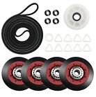 Dryer Repair Kit Belt Rollers Kenmore Elite Smartheat Quiet Pak 9 He4 110 Series photo