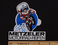 METZELER TIRES Vintage Motocross Enduro STICKER Decal AHRMA Penton Husqvarna KTM