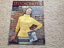 STITCHCRAFT Ladies Vintage Knitting Magazine November  1959