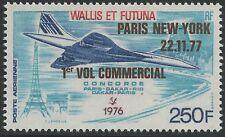 WALLIS ET FUTUNA PA N°75** Avion, Concorde 1977, TB Aircraft MNH