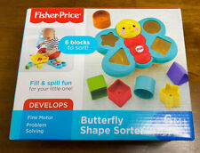 Fisher-Price Butterfly Shape Sorter Baby Toys - Baby Development