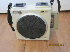 Lloyds Portable 8 Track Tape Player,Plays Great