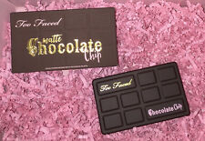 Too Faced MATTE CHOCOLATE CHIP Cocoa Powder-Infused Eye Shadow Palette NIB
