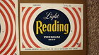 OLD USA AMERICAN BEER LABEL, READING BREWING Co PENNSYLVANIA, LIGHT RED 12 Oz 1