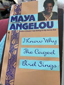 Signed By Author Maya Angelou,i Know Why Caged Bird Sings