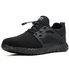 Mens Steel Toe Construction Sneakers Safety Shoes S3 Running Hiking Work Boots