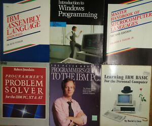 IBM PC Programmation - 6 Livres : Windows, Assemblage, Basique, Problem Solving
