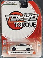 Greenlight 2017 Tokyo Torque Series 1 2014 Nissan GT-R R35 weiß