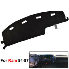 For Dodge Ram Pick-Up 1500 1994-1997 Dash Cover Mat Dashboard Cover Black 1PC