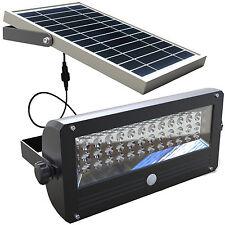 10w LED Solar Security Flood Light - PIR Motion Sensor - For Entrance Door Wall