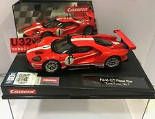 CARRERA EVOLUTION 27596 FORD GT RACE CAR #1 TIME TWIST