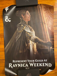 Ravnica Weekend POSTER Magic the Gathering STORE PROMO Choose Your Guild
