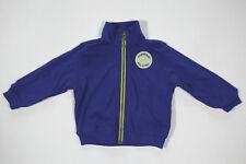 Neu All Star Converse Kinder Jungen Pullover Sweatshirt Jacke Blau Gr.9-12M 18