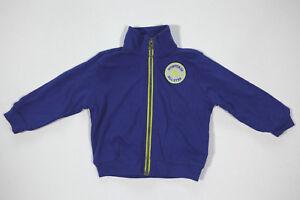 Neu All Star Converse Kinder Trainingsjacke Sweatshirt Jacke Blau Gr.9-12 M 18