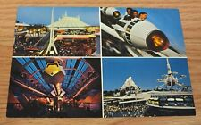Genuine Vintage Disney Tomorrow Land Collectible Post Card Only **READ**