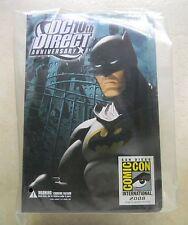 Batman DC DIRECT 10TH Anniversary SDCC EXCLUSIVE ACTION FIGURE 2008 NM/MT in bag