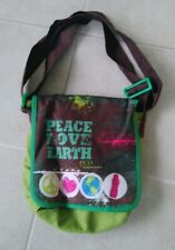 Tupperware Eco Bag Green Peace Love Earth Food Storage Container