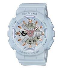 Casio Baby-G * BA110GA-8A Anadigi Matte Grey Rose Gold Watch COD PayPal