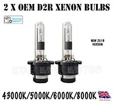 2X D2R FACTORY XENON OEM HEADLIGHT BULBS 12V 35W 4300K 5000K 6000K 8000K