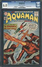Aquaman #1 CGC 6.0 DC 1962 Justice League of America! JLA! Silver Age key! E6 cm