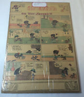 1914 newspaper cartoon page ~ OH YOU SAMBO!
