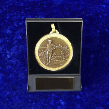60mm Athletics Medal Presentation Box Competition Event FREE engraving