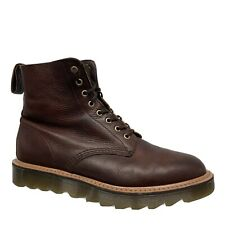 Dr. Marten Nanamica Leather Boots Ripple Sole Rare Collab 8 Eyelet Men Sz 10/43