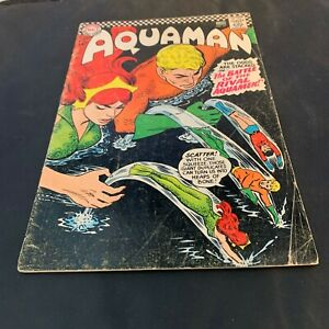 Superman DC National Comics Aquaman NO 27 June 1966 Collector Craft Recycle