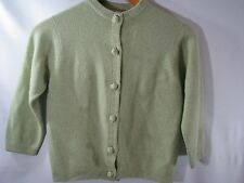 Vintage Ballantyne 100% Cashmere Made in Scotland Lord & Taylor Womens Cardigan