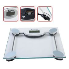 180kg/396lb Digital LCD Personal Bathroom Body Glass Weight Heath Fitness Scale