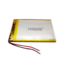 3.7V 2500 mAh Li-polymer Rechargeable Battery Li-Po li-ion 357090 for Tablet PC