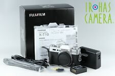 Fujifilm X-T10 Digital SLR Camera With Box #11116