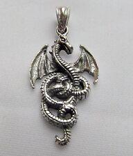 Sterling Silver (925)   Dragon  Pendant    !!      Brand  New  !!