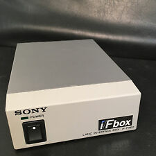 SONY I/FBOX LANC INTERFACE BOX IF-FXE2 funzionante COME NUOVO