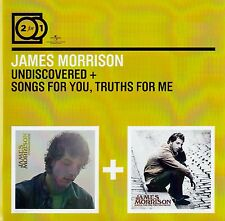 JAMES MORRISON : UNDISCOVERED + SONGS FOR YOU, TRUTHS FOR ME / 2 CD-SET