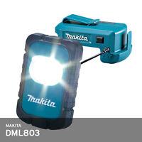 Makita DML803 18V/14.4V Cordless 2.4W LED Li-Ion WorkLight Flashlight *Body Only