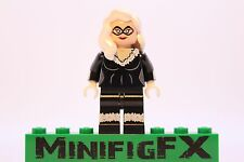 Lego BLACK CAT Custom Printed Minifig Marvel Superhero Felicia Hardy Spider-Man