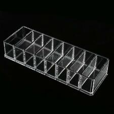 Makeup Cosmetic Organizer Compact Powder Holder 8 Slot Acrylic Storage Case