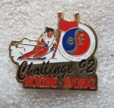 "Pin's Ski ESF "" Challenge 92 - MORZINE - AVORIAZ """