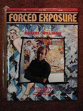 FORCED EXPOSURE #14 punk zine- Robert Williams (JUXTAPOZ)*SONIC YOUTH*SPACEMEN 3