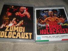 Zombie Holocaust (Dr. Butcher M.D.) Gore/Nudity All Region Oop 88 Films. Blu-ray