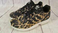 ADIDAS ZX FLUX Men's Sz 5/Women's 7 Shoes Sneakers Animal Print Leopard Torsion