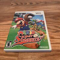Mario Super Sluggers (Nintendo Wii, 2008) Complete