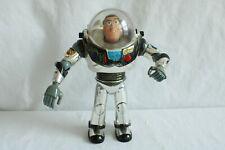 "Silver Toy Story Intergalactic Buzz Lightyear Disney Thinkway 12"" 1995"