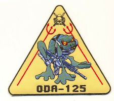 SPECIAL FORCES ODA-125 SCUBA DIVER FROG MILITARY PATCH