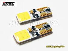 MTEC Maruta 7000K T10 W5W 194 168 Canbus  No Error COB LED Lights 520+ Lm