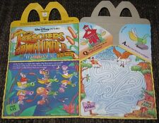 1990 McDonalds Happy Meal Box - The Rescuers Down Under #1