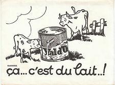 Buvard Vintage  Lait Val d'Or   cherrier