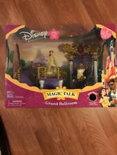 DISNEY Beauty and the Beast Grand Talk Ballroom New 2005 Belle Factory Sealed